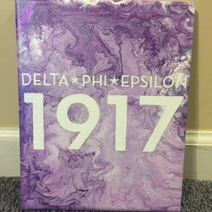 Other - 8x10 Delta Phi Epsilon 3D canvas